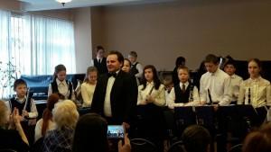 Концерт духового отделения детской школы искусств №10