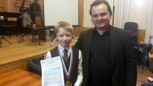 Лауреат конкурса Алексей Староверов