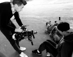 Молодой режиссер за работой