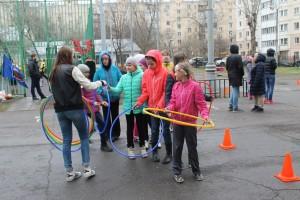 Спортивный праздник в Даниловском районе