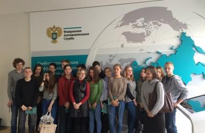 Студенты техникума на экскурсии в ФАС