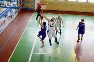 Чемпионат Москвы по баскетболу среди команд старше 35 лет