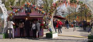 """Ярмарка на фестивале """"Московская весна"""""""