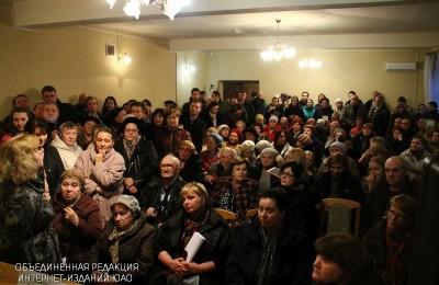 Встреча главы управы Даниловского района Ольги Конюховой с жителями