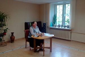 В центре социального обсуживания выступила поэтесса Светлана Сергеева
