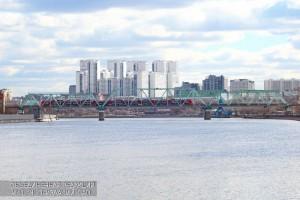 Железнодорожный мост в Даниловском районе