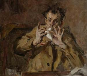 Картину Виктора Цыплакова обсудили в галерее района