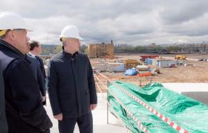 Мэр Москвы Сергей Собянин проверил ход застройки территории промзоны ЗИЛ