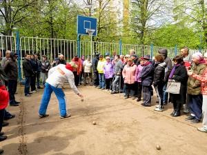 Соревнования по петанку в Даниловском районе
