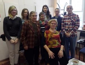 Студенты техникума имени Красина помогли ветеранам с уборкой