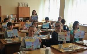 Творческий мастер-класс на тему импрессионизма в техникуме имени Красина