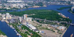 Территория застройки в Даниловском районе