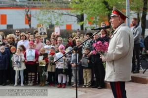 В Даниловском районе состоялся митинг Победы