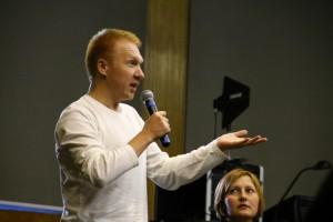 Мастер спорта по марафонскому бегу Александр Головин выступил с лекцией в культурном центре