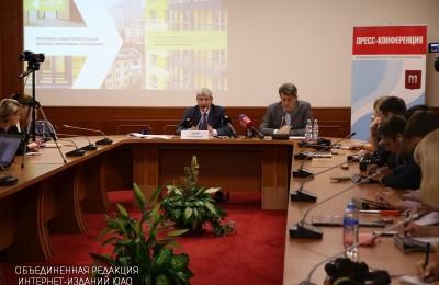 Сергей Левкин, глава Департамента градостроительной политики Москвы, рассказал о программе реновации