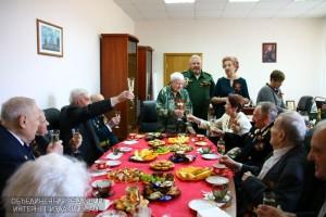Встреча ветеранов в военкомате Даниловского района