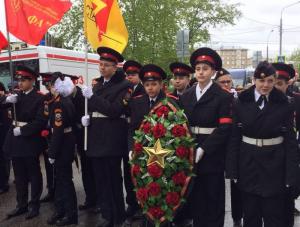 Воспитанники кадетских классов лицея №1451
