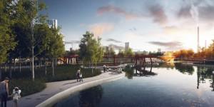 Проектное решение: парк на территории ЗИЛа