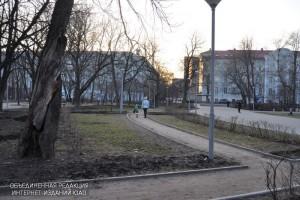 Сквер в Даниловском районе