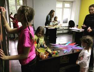 """Творческая акция для детей в галерее """"Пересветов переулок"""""""