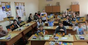 Участники «Арт-субботы» в техникуме имени Красина