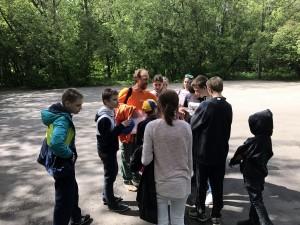 Ученики школы-интерната №79 готовятся к походу