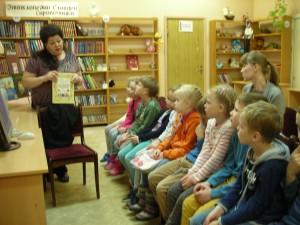 Ребята вспомнили творчество Александра Пушкина в библиотеке