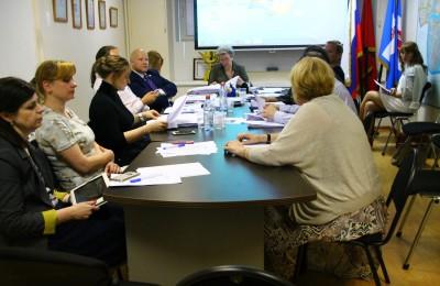 Заседание Совета депутатов в Даниловском районе