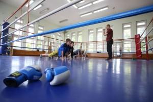 Школа бокса на стадионе имени Эдуарда Стрельцова