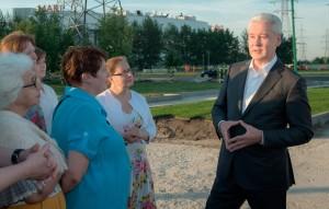 Мэр Москвы Сергей Собянин пообщался с жителями района Марьино