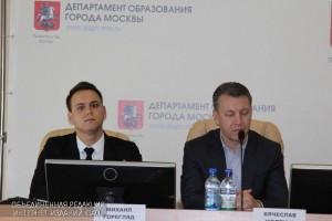 Пресс-конференция об успехах столичного образования