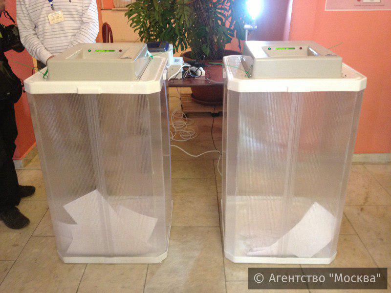 Фото с муниципальных выборов 2017