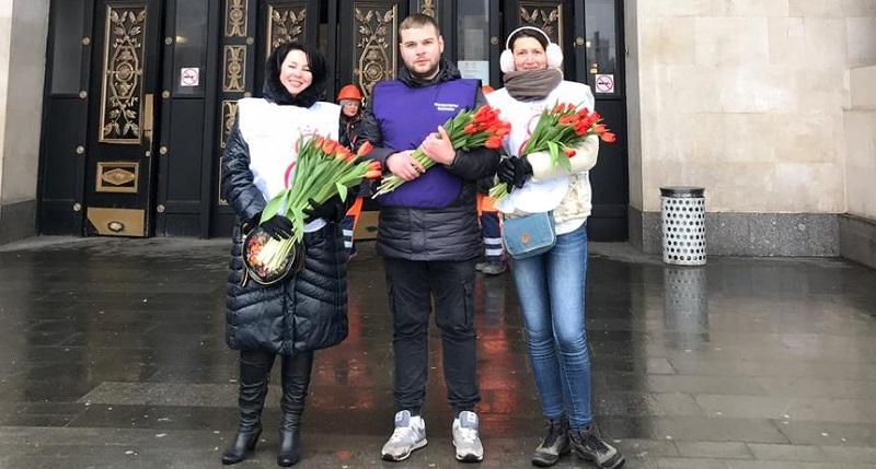 акция 8 марта Ленбер молодежная палата