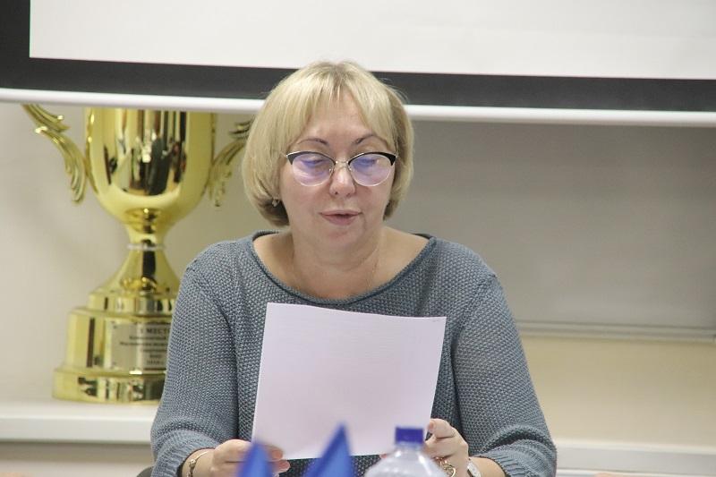 глава муниципального округа Даниловский Людмила Григорьева