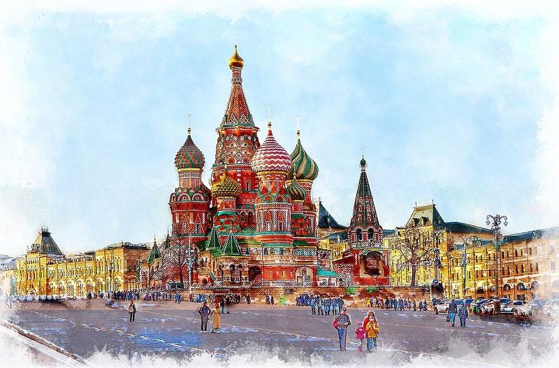 Москва, город, история