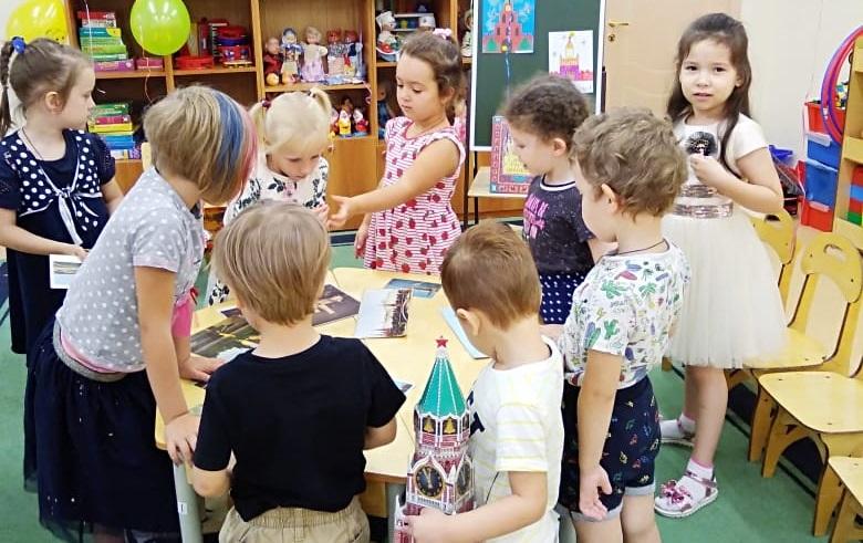 Школа № 630 Диана Кашицына, дошкольники, День города, 872-летие Москвы