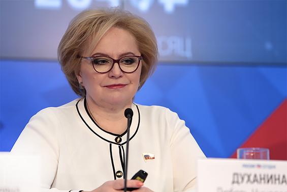 Любовь Духанина, Единая Россия, Государственная Дума РФ,