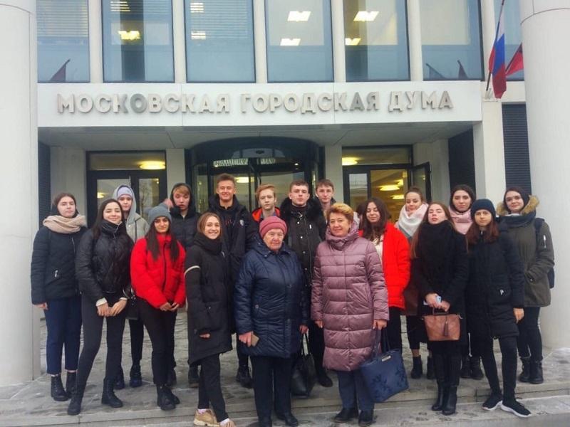 Школа №630, Московская городская дума, Ольга Мельникова
