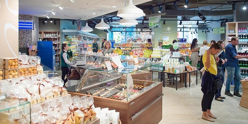 социальная дистанция, разметка, магазины, коронавирус