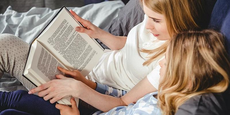 семья дети чтение психология