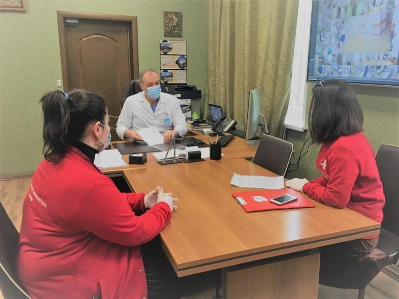 медики-волонтеры павловская больница георгий мелконян пресс-служба 2