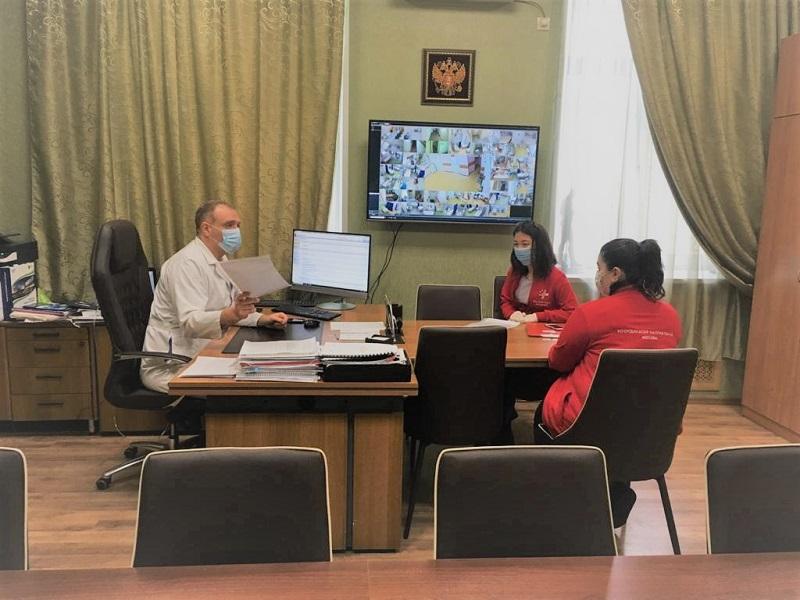 медики-волонтеры павловская больница георгий мелконян пресс-служба