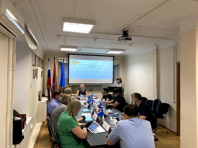 Даниловский-мун- заседание совета депутатов